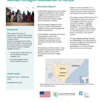 Dadaab Refugee Assistance
