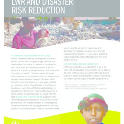 thumbnail of LWR-AND-DISASTER-RISK-REDUCTION