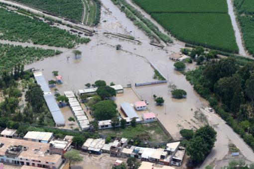 Flooding and mudslides in Peru.