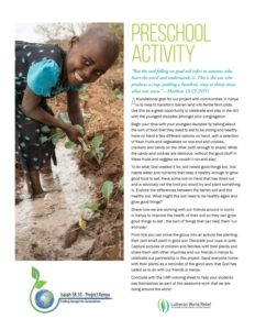 thumbnail of Preschool Activity Kenya