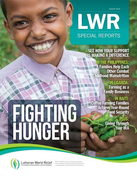 Special Reports: Fighting Hunger (August 2016)