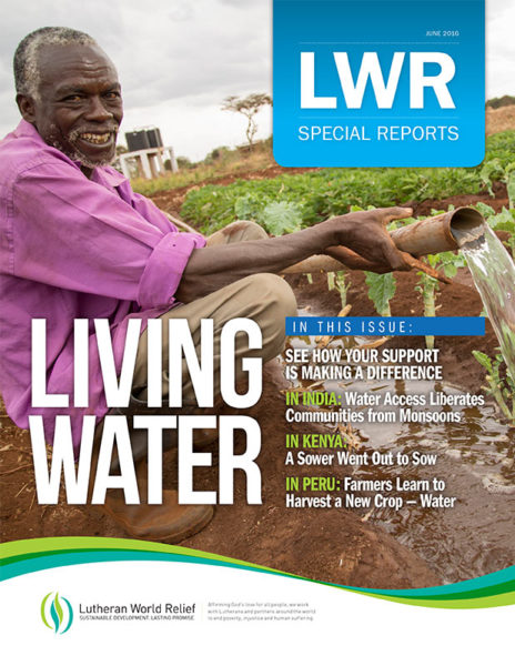 Special Reports: Living Water (June 2016)